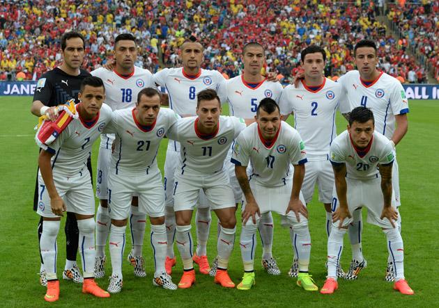 Resultado de imagen para Selección Chilena  vs españa Mundial de Brasil  2014