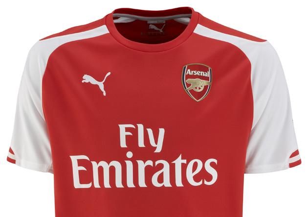 Puma lanza uniformes de Arsenal para temporada 2014-2015 » PrensaFútbol 30c9f9da824d3