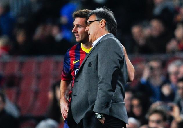 """""""Me sorprendió que en Barcelona no conocieran mi trabajo"""" (prensafutbol) Martino_messi_argentina-630x443"""