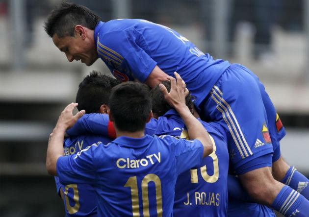 [FOTOS] Revisa las mejores imágenes del partido entre Universidad de Chile y Audax Italiano (CHV)  Audax_u_2_pina