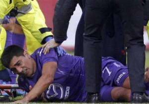 Pizarro_Fiorentina_Lesión