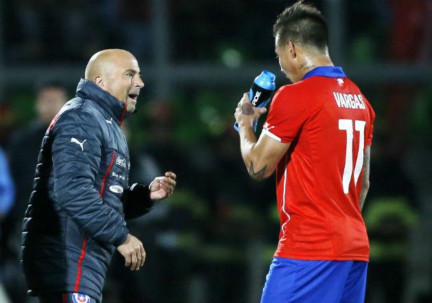 """Eduardo Vargas: """"Sampaoli es el técnico que más me ha motivado ..."""