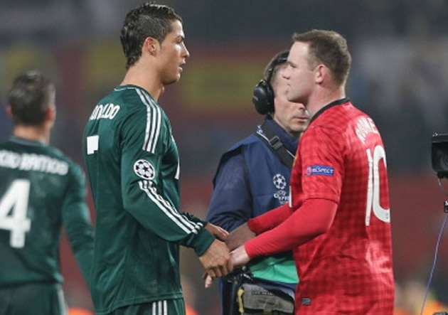 Rooney     Cristiano Ronaldo super  243  a Messi como el mejor del mundo    Wayne Rooney And Cristiano Ronaldo Fight