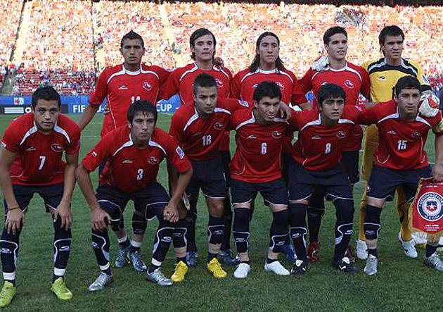 Resultado de imagen para selección chilena sub 20 2007