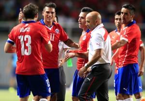 Football, Chile v USA.
