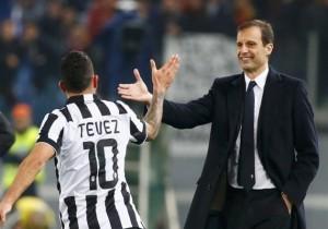 Allegri_Tevez_Juventus