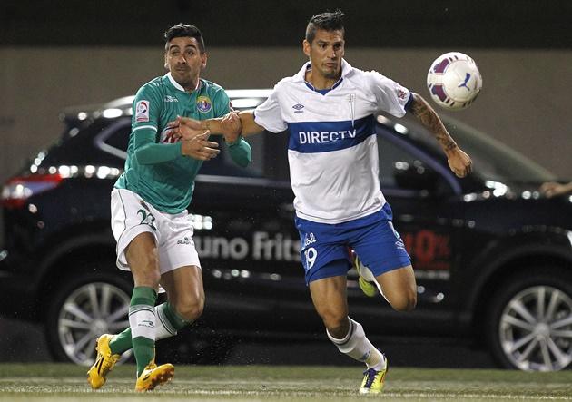Futbol, Audax Italiano v Universidad Catolica.