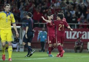 España_Ucrania_Gol