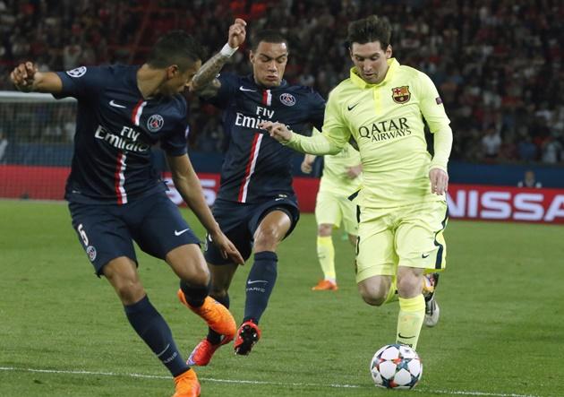 De la mano de Di María, PSG paseó al Barcelona