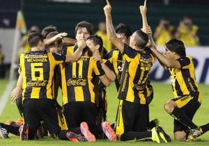 Guaraní_Celebración_Clasificación_Libertadores_2015