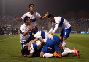 Fútbol, Universidad Católica v San Marcos de Arica