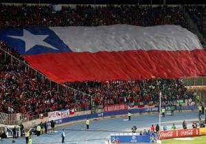 Hinchada_Chile_Bandera_Copa_América_PS