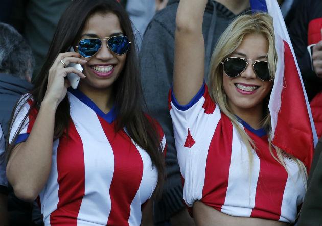 Paraguay cuenta con un gran aliento femenino en las tribunas
