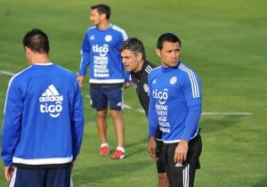 Paraguay_Entrenamiento_La_Serena_Villar