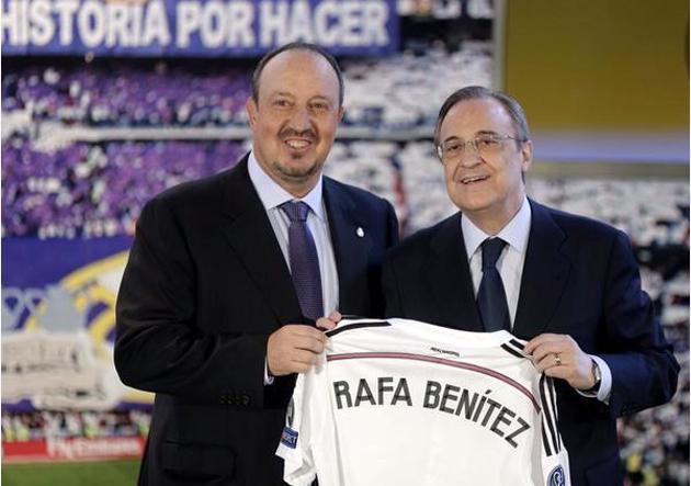 Rafa_Benítez_Florentino_Presentación_Real_Madrid_2015