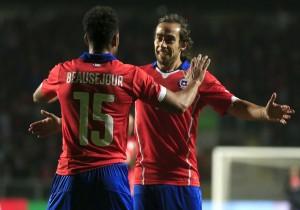 Fútbol, Chile v El Salvador.