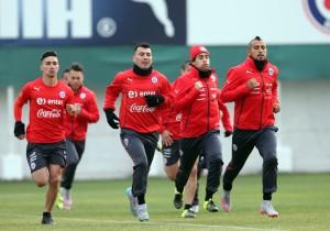 Entrenamiento_Selección_Julio_Valdivia_Medel_Vidal_2015_ANFP