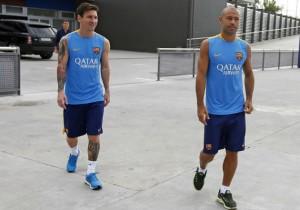 Messi_Mascherano_Barcelona_practica_2015