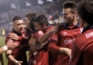 Catolica_Danubio_Sudamericana_Celebración_PS