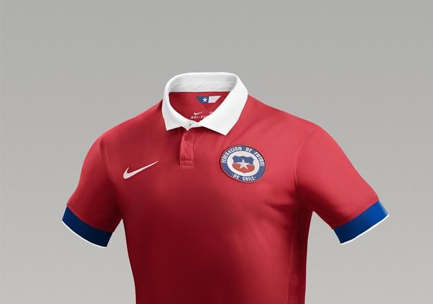 5e5d3da9fccf2 La Nueva  Roja   Conoce el nuevo uniforme que vestirá Chile ...