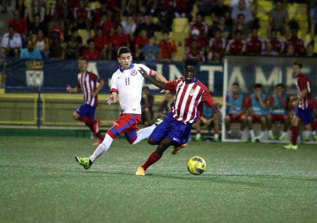 Chile_Sub20_Atlético_de_Madrid_Amistoso_2015