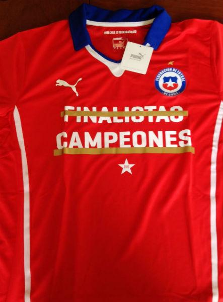 4028be652 Chile camiseta campeon 1. camiseta cobreloa puma