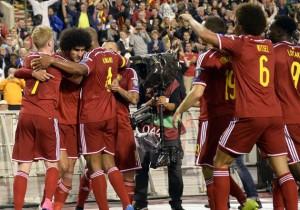 Bélgica_Bosnia_Eliminatorias_Euro_Celebración_2015