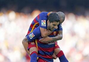 Barcelona_Las_Palmas_Celebración_Suárez_2015