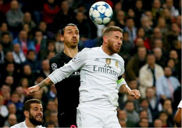 Ibrahimovic_Ramos-PSG_RealMadrid_2015