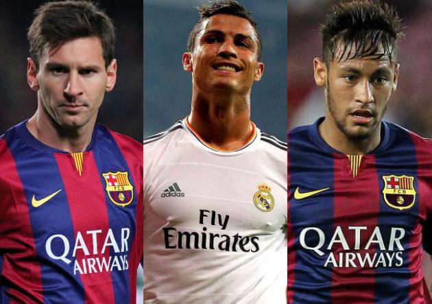 Ranking de los 100 mejores futbolistas del año 2015