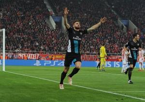 Olympiacos FC v Arsenal FC - UEFA Champions League