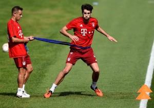 Javi Martinez_Bayern Munich_2016