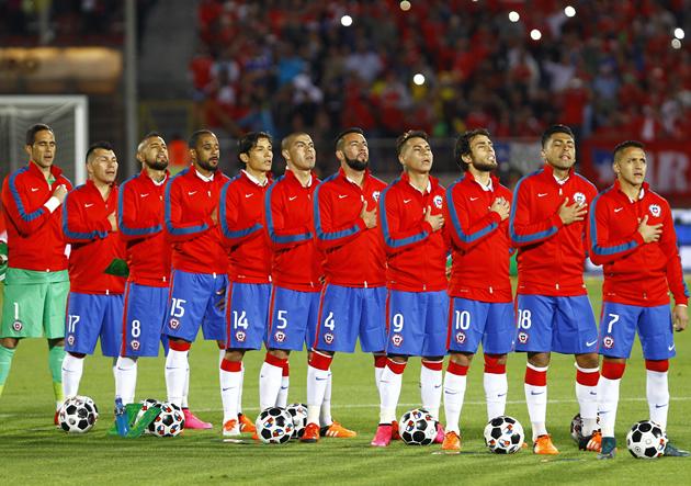La 'Roja' se mantiene como la quinta mejor selección del mundo ...