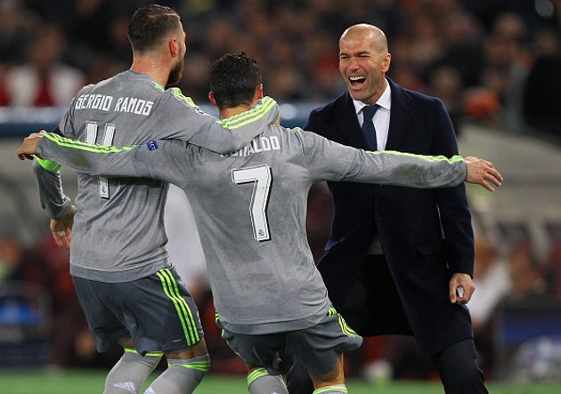 AS Roma v Real Madrid CF - UEFA Champions League Round of 16: First Leg