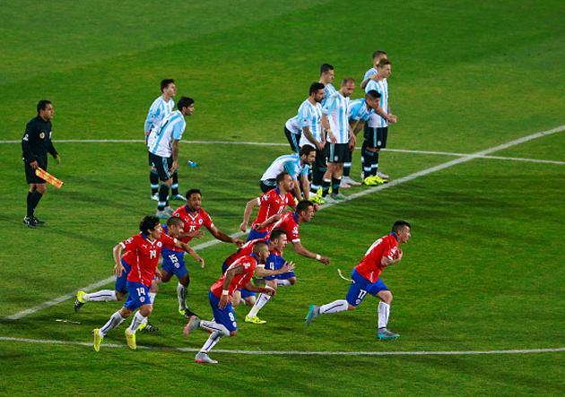 Resultado de imagen para final chile v s argentina