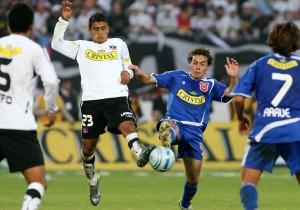 FUTBOL, U. DE CHILE/COLO COLODECIMO QUINTA FECHA, APERTURA 2007