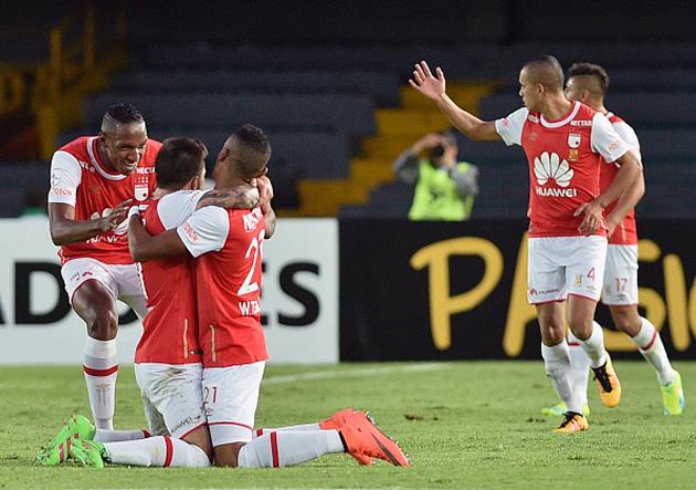 Independiente_Santa_Fe_Celebra_Cobresal_Libertadores