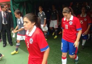 Roja Sub 17 femenina_Sudamericano Venezuela_2016