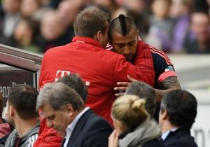 Arturo Vidal_sustitucion_Bayern Stuttgart_2016