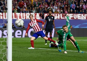 Club Atletico de Madrid v FC Bayern Muenchen - UEFA Champions League Semi Final: First Leg