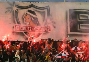 Colo Colo Independiente del Valle Hinchada Garra Blanca