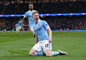 Manchester City PSG Champions De Bruyne