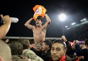 Montpellier's Chilean midfielder Marco E