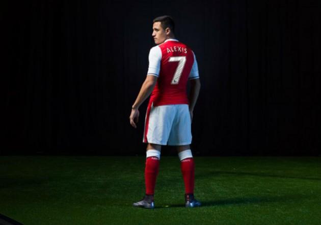 Vuelve  AS7   Alexis cambia número y seguiría en el Arsenal ... 8382974f24ee7