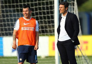 FC Internazionale Training Session And Press Conference