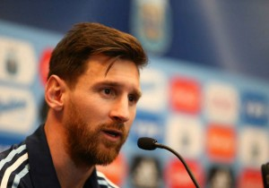 Argentina Chile Lionel Messi conferencia