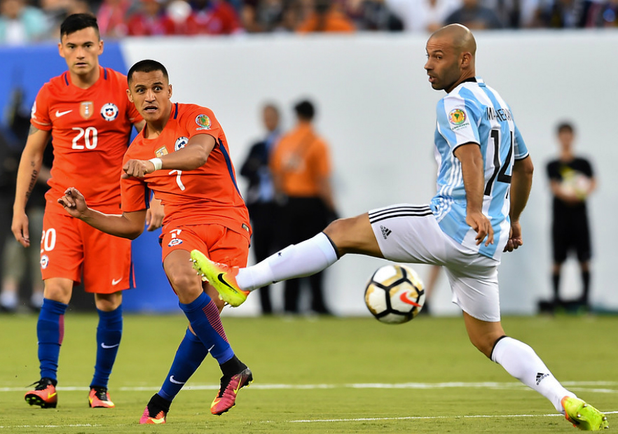 Chile Argentina Final