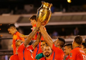 Chile campeon Copa Centenario