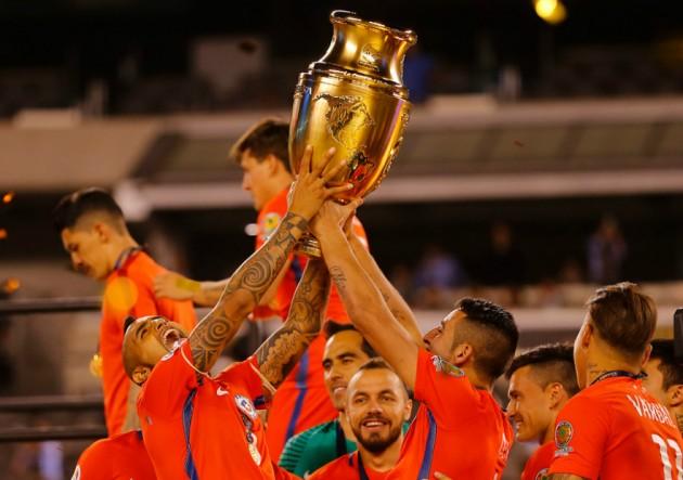 Chile campeon Copa Centenario