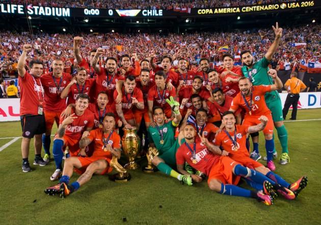 Chile campeon Copa Centenario2